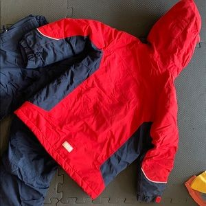 Lands' End Jackets & Coats - The Squall Jacket, snow pants and glove set
